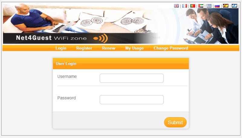 Hotspot management software with Bandwidth control wonderful Screen Shot